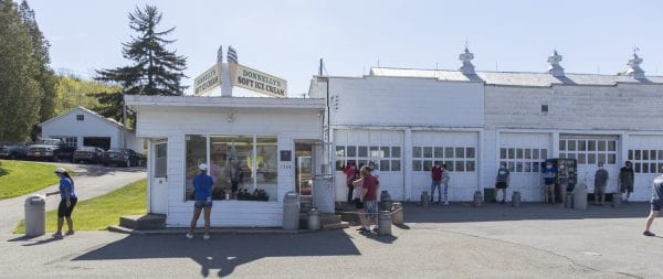 Donnelly's Ice Cream in Harrietstown. Photo by Mike Lynch