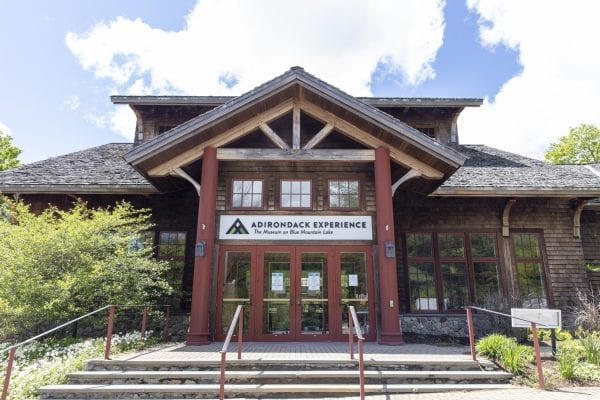 Adirondack Experience, the Museum at Blue Mountain Lake, is closed for the season. Photo by Mike Lynch