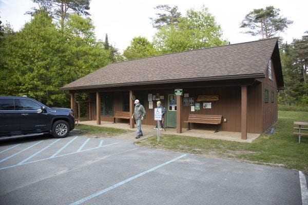 A lodge at Higley Flow State Park. Photo by Mike Lynch