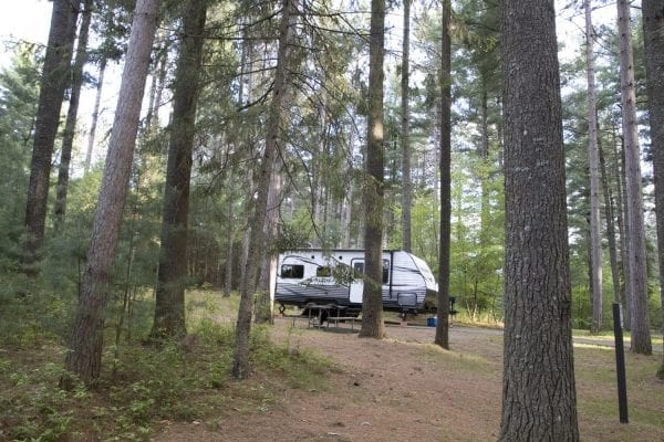 Higley Flow State Park is a popular camping destination. Photo by Mike Lynch