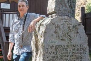 Dave Kanietakeron Fadden: Overcoming shyness to become a master storyteller