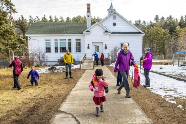 The Little Peaks preschool in Keene was featured in an article about the need for child care in the Adirondacks. Photo by Nancie Battaglia