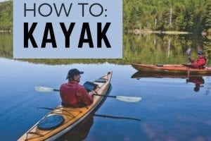 Gliding or riding the rapids: Kayak choice depends largely on use