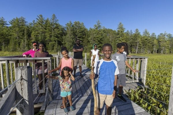 The Adirondack Diversity Initiative organized a hike at the Paul Smith's College VIC in late July. These images by Explorer multimedia reporter Mike Lynch are from that outing.