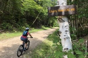 Biking a rarely traveled loop in the Sable Highlands