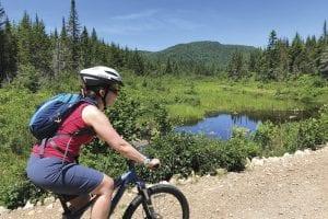 Biking Loon Lake Loop