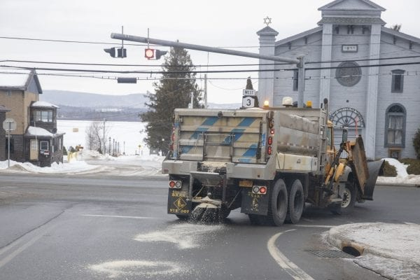 A bill to study road salt is stalled as it awaits the governor's signature after being approved by lawmakers.
