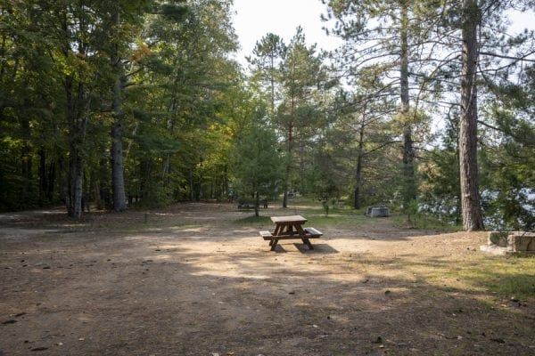 Sites are often right on top of each other at Fish Creek Campground. Photo by Mike Lynch