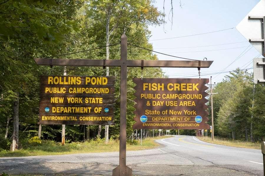 fish creek before the apa