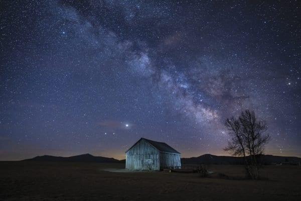 This photo of the sky over Vermontville ran with a story on dark skies in the September issue. Photo by Jonathan Esper