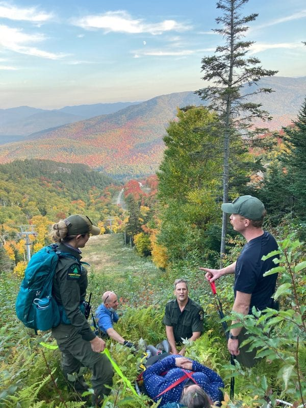 Rangers respond to rescues, fires and illegal camping in the Adirondacks the last weekend in September 2020.