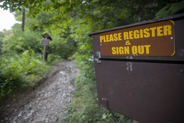 Elizabethtown community trails offer options for bikers, hikers, and skiers. Photo by Mike Lynch