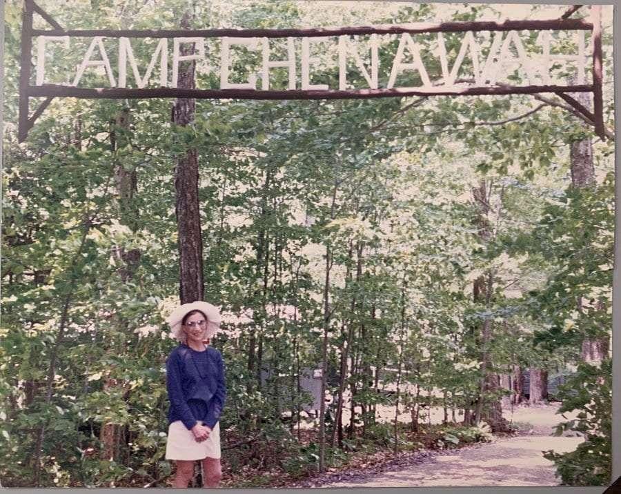 Ginsburg at Camp Che-Na-Wah.