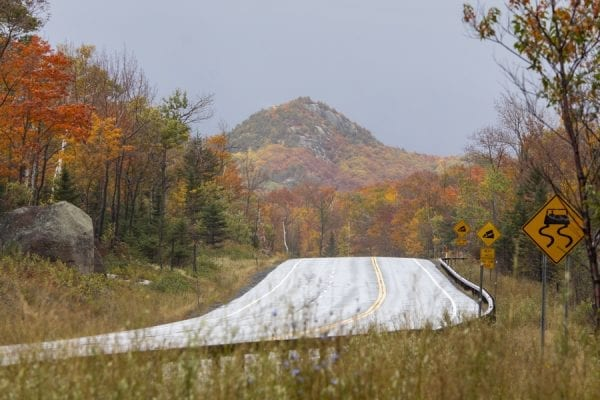 Owls Head Mountain in late September. Photo by Mike Lynch
