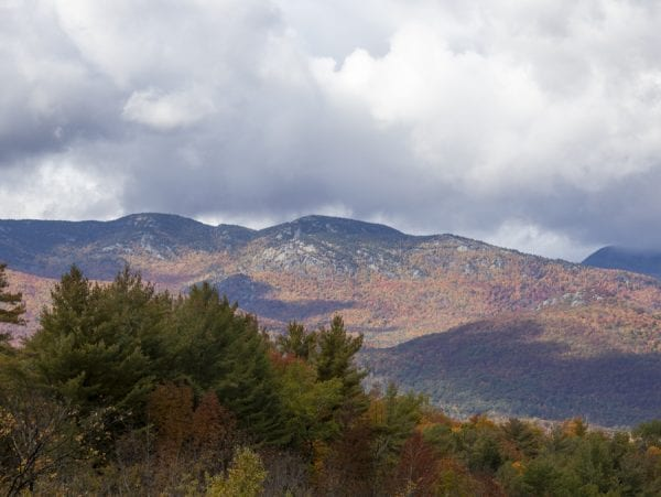 Fall foliage in late September. Photo by Mike Lynch