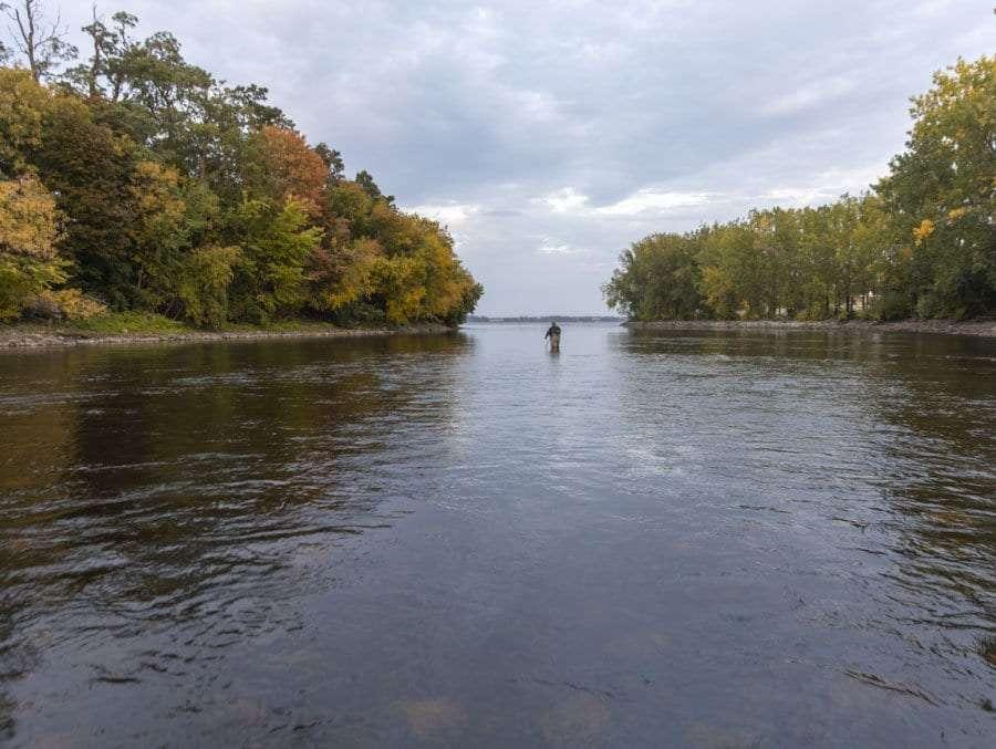 saranac river, clean water