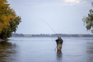 Fishing the Saranac River