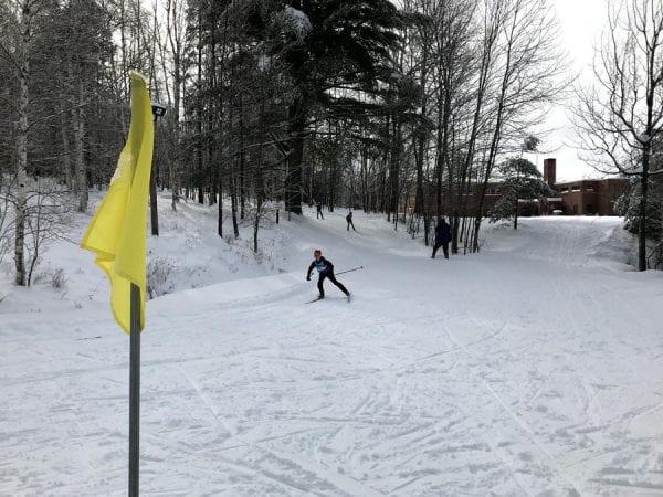 Dewey Mountain ski race