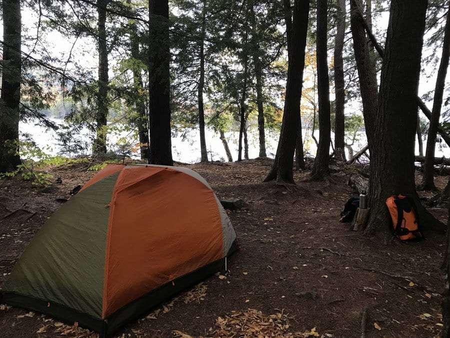 Third Lake campsite