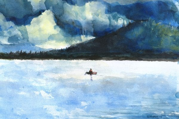 Hornbeck painting