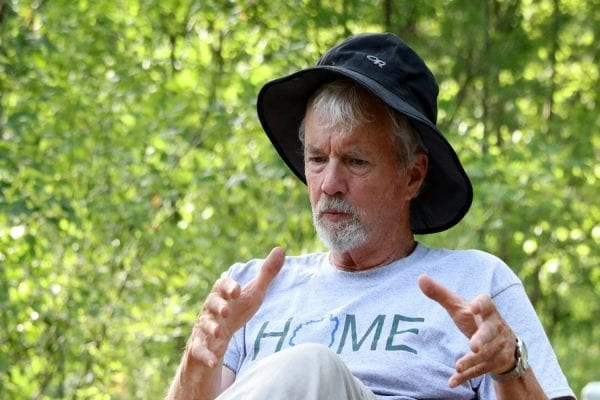 Peter Hornbeck telling a story.