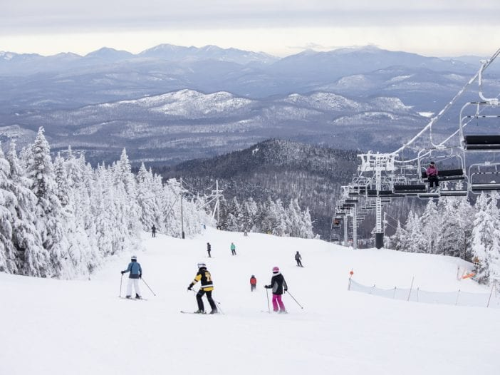 Gore mountain skiing