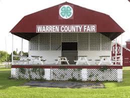 warren county fairgrounds stage