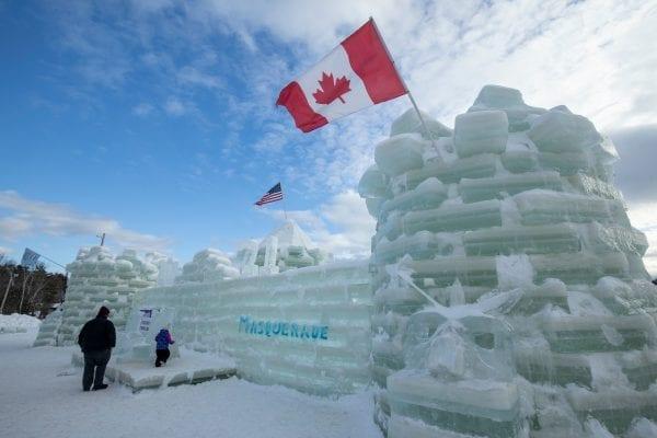 Saranac Lake Ice Castle