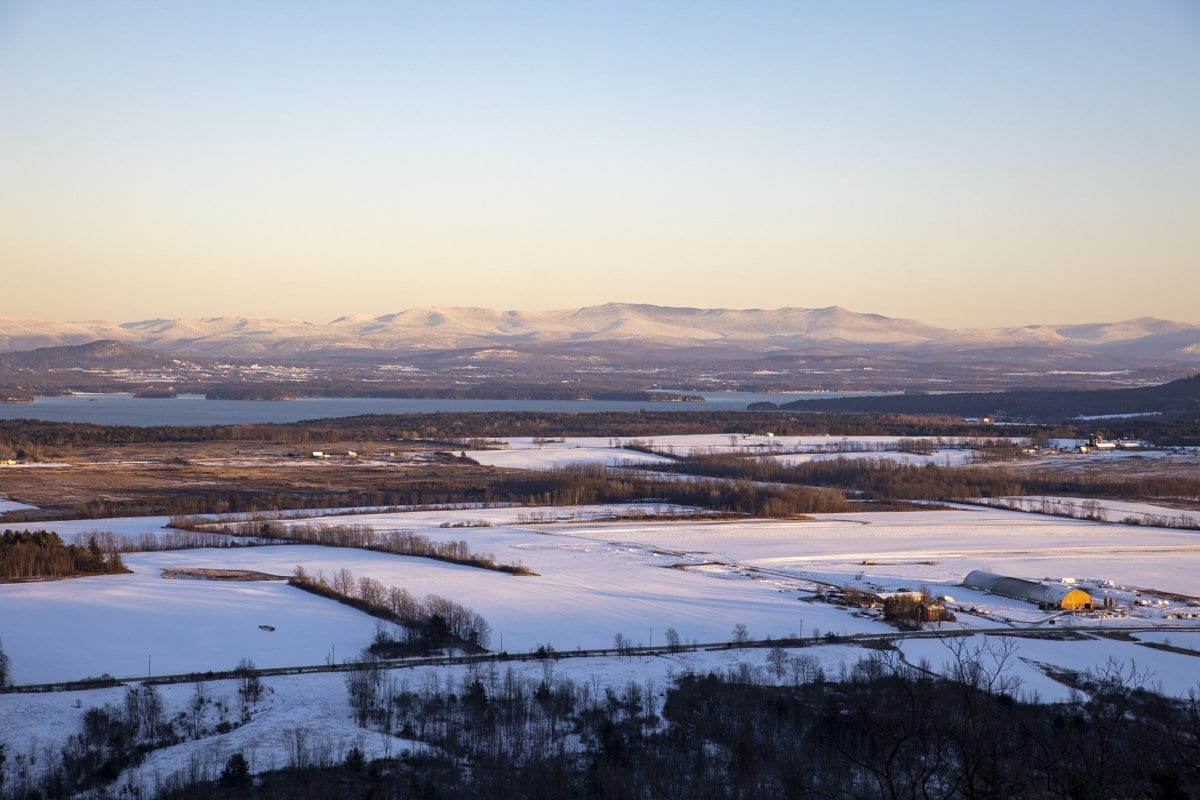 champlain valley view