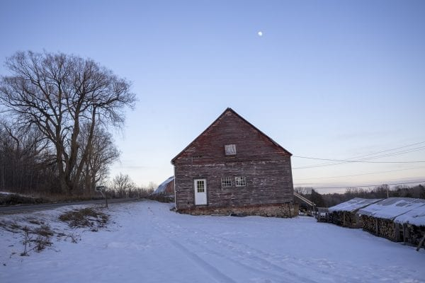 An old farmhouse along the Riverside Trail. Photo by Mike Lynch