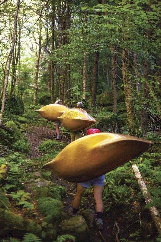 carrying a hornbeck boat