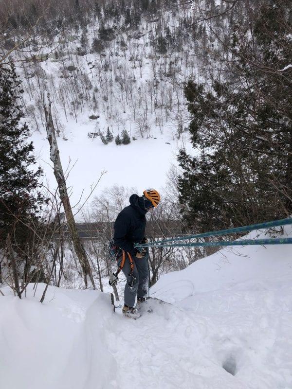 ice climbing cascade pass