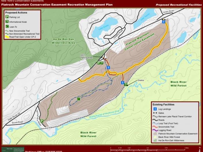 Flatrock map