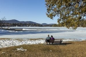 Behind the lens: documenting ice out