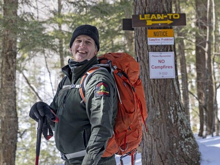 Forest ranger Scott Van Laer