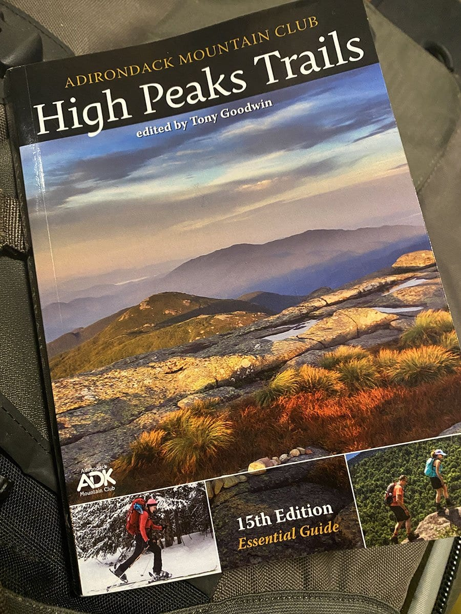 High Peaks Trails guidebook by Tony Goodwin