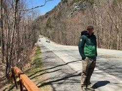 route 73 guardrails