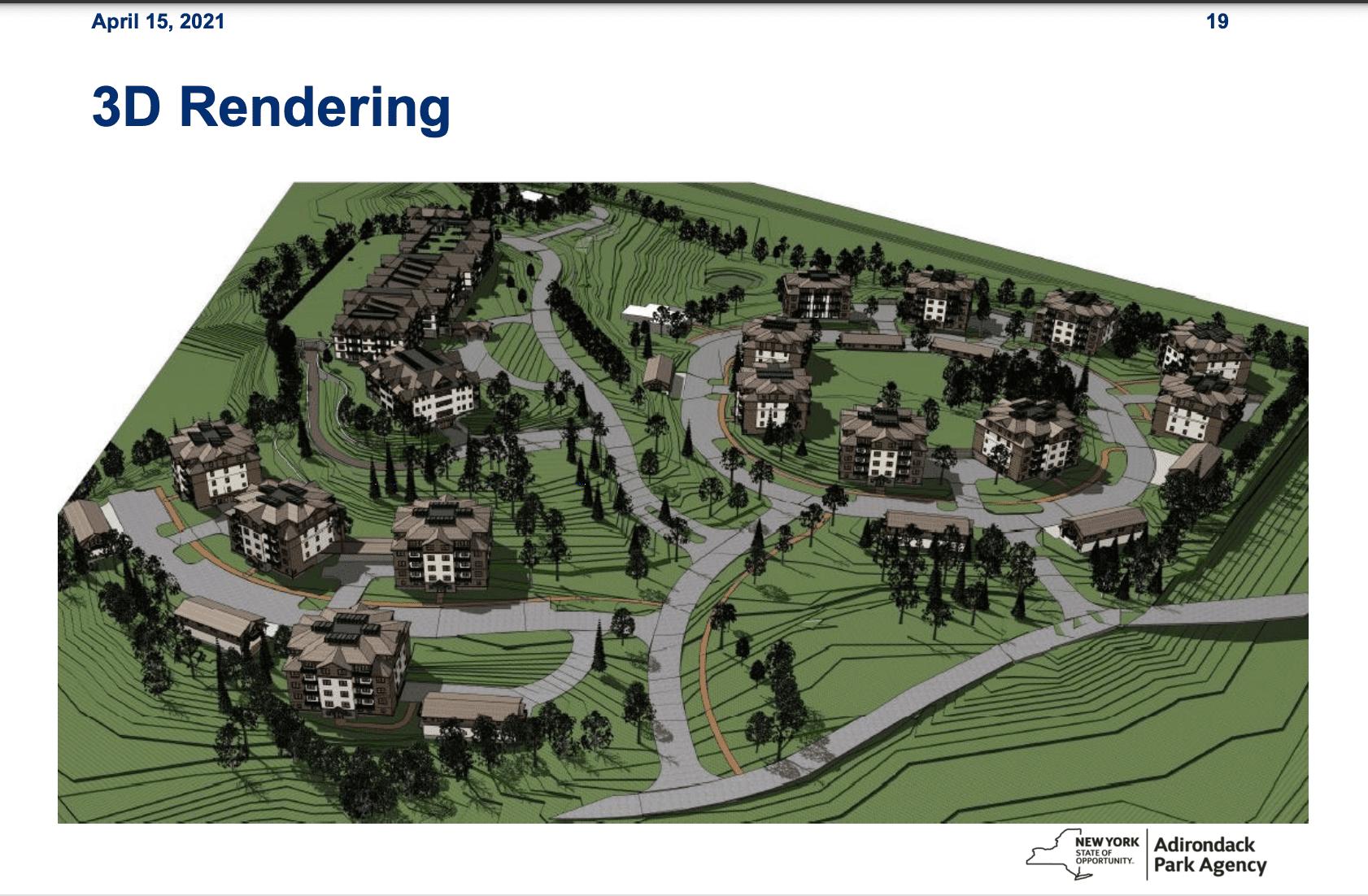 North Elba housing rendering