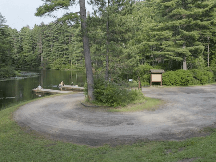 fish creek pond campground boat launch