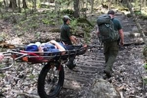 Rangers respond to backcountry injuries