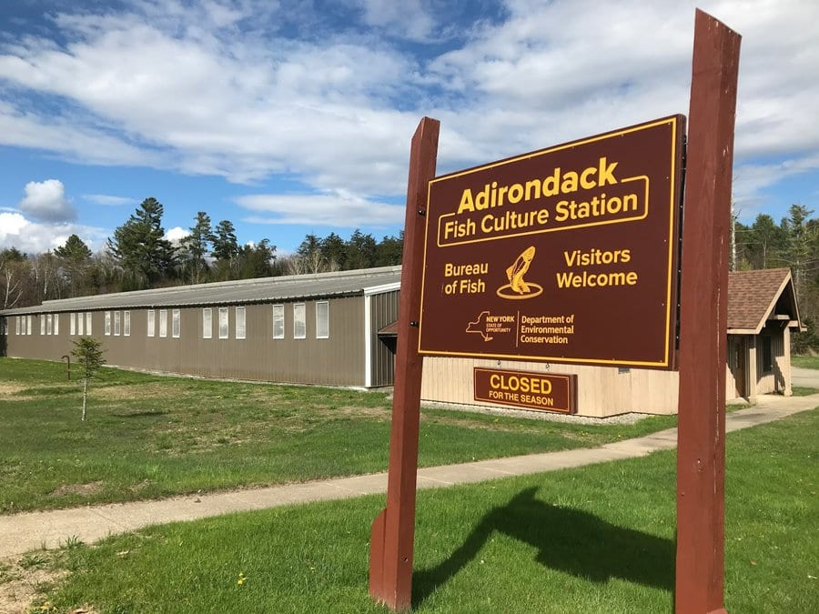 The Adirondack Fish Culture Station, a state hatchery.