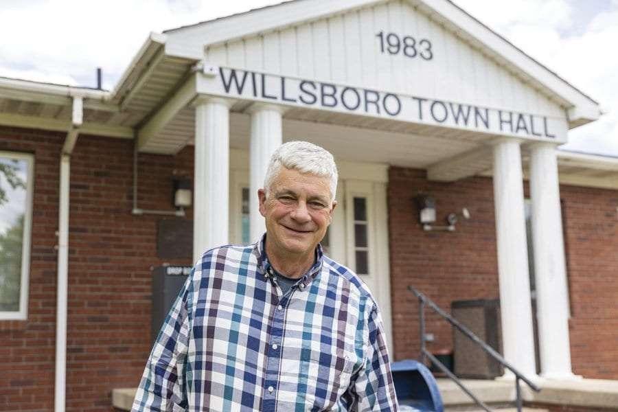 willsboro supervisor Gilliland