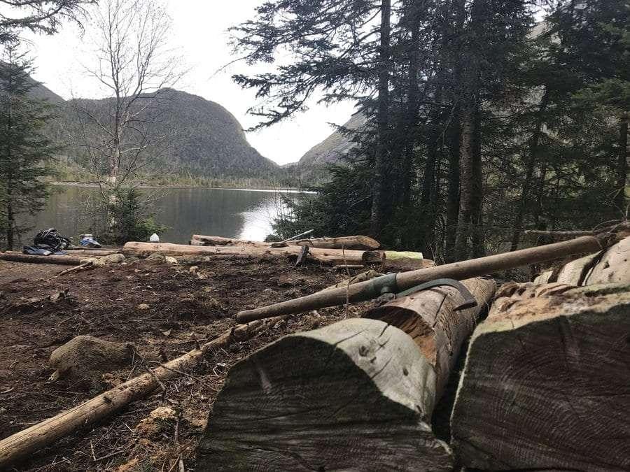Beaver Point on Lake Colden.