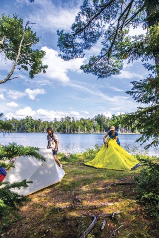 stephens pond, northville placid trail