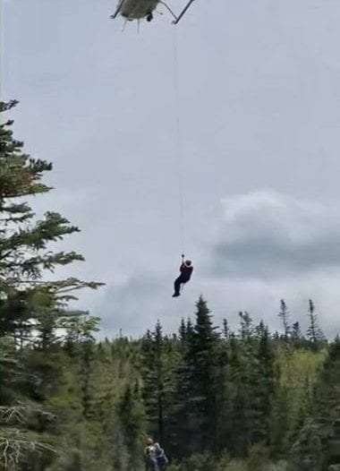 Forest Rangers rescue hiker from Lake Mary Louise