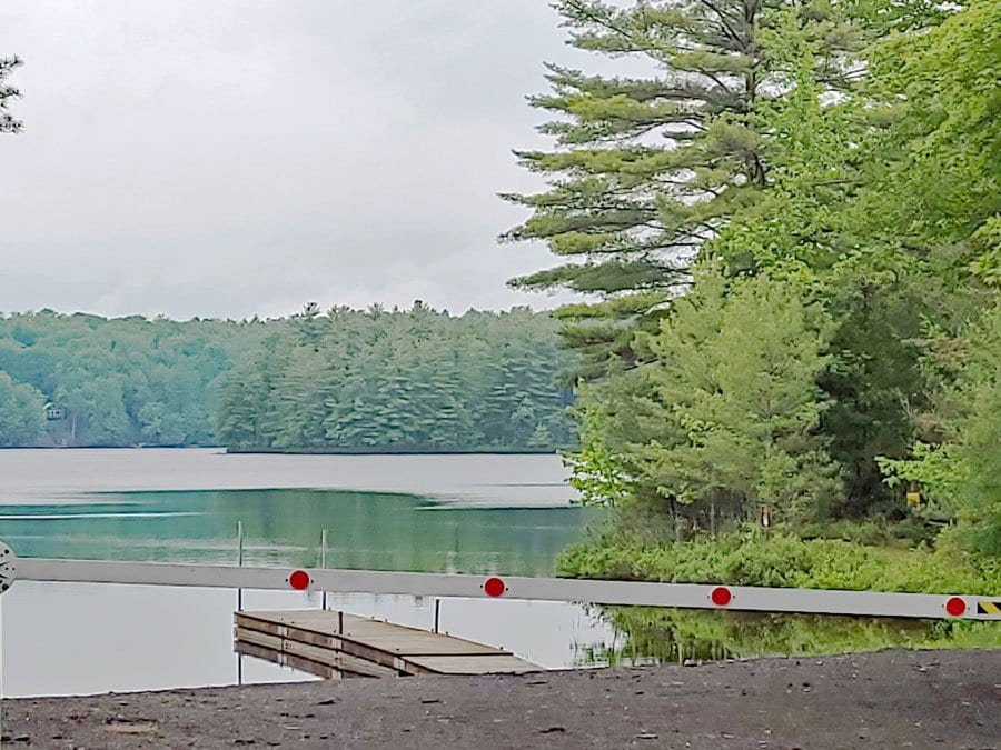White Lake, where a granite quarry project has been proposed.