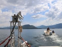 off-shore wind research system