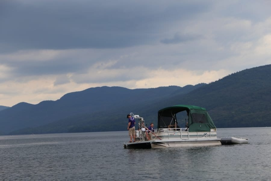 off-shore wind technology on Lake George