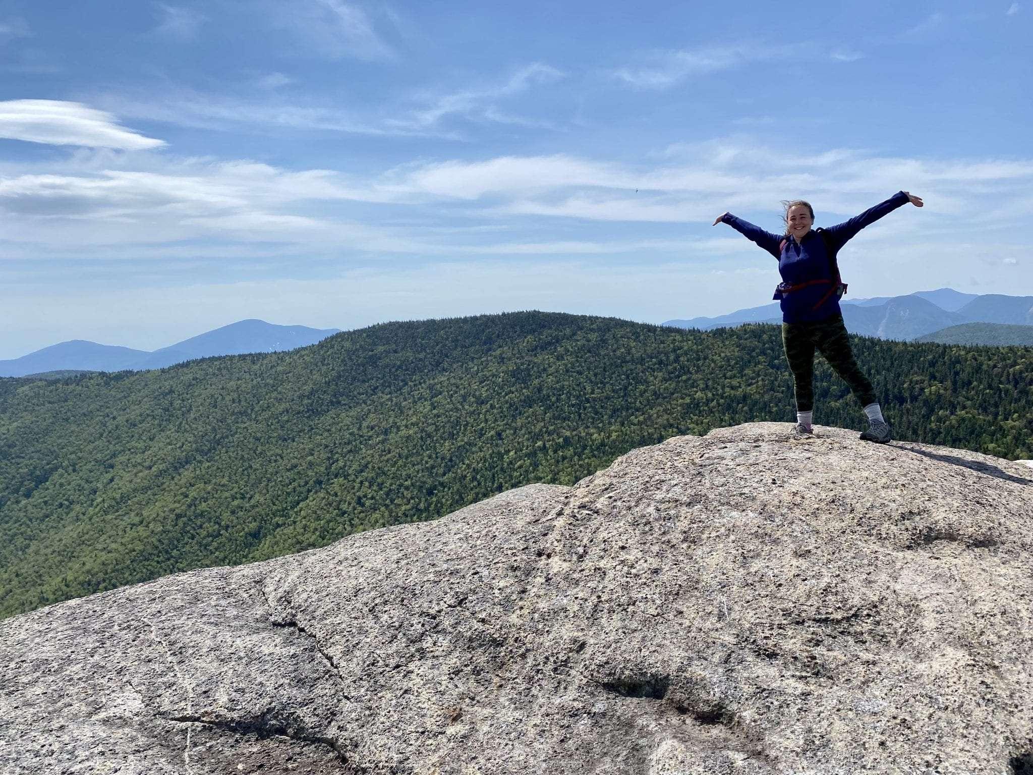 Gwendolyn Craig on Cascade Mountain