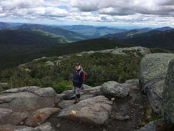 Jim atop Mt. Marcy.